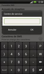 HTC T320e One V - SMS - Configuration manuelle - Étape 6