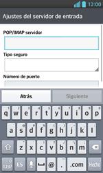 LG Optimus L5 II - E-mail - Configurar correo electrónico - Paso 10