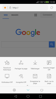 Huawei Mate S - Internet - navigation sur Internet - Étape 7