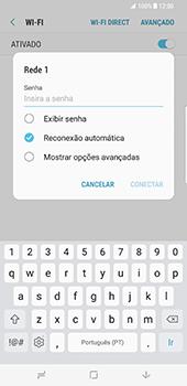 Samsung Galaxy S8 Plus - Wi-Fi - Como ligar a uma rede Wi-Fi -  8