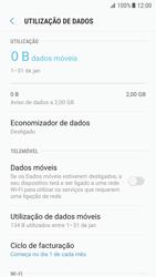 Samsung Galaxy S7 - Android Nougat - Internet no telemóvel - Como ativar os dados móveis -  6
