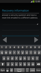 Samsung I9505 Galaxy S IV LTE - Applications - Create an account - Step 16
