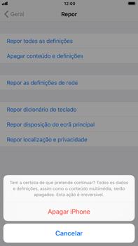 Apple iPhone 6s Plus - iOS 11 - Repor definições - Como repor definições de fábrica do telemóvel -  8