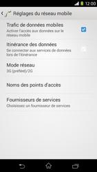 Sony Xpéria M2 - Internet et connexion - Activer la 4G - Étape 6