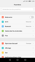 Huawei Y6 (2017) - Réseau - Changer mode réseau - Étape 3