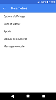 Sony Xperia XA2 Ultra - Messagerie vocale - Configuration manuelle - Étape 6