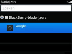 BlackBerry 9360 Curve - Internet - hoe te internetten - Stap 7
