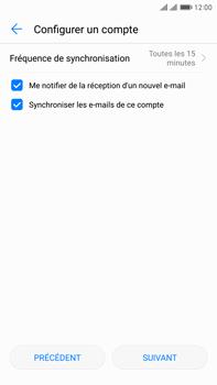 Huawei Mate 9 Pro - E-mail - Configuration manuelle - Étape 17