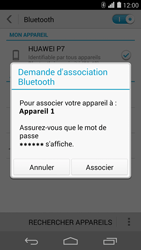 Huawei Ascend P7 - Bluetooth - connexion Bluetooth - Étape 9