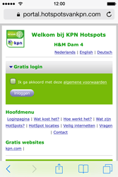 Apple iPhone 4 met iOS 7 - WiFi - KPN Hotspots configureren - Stap 20