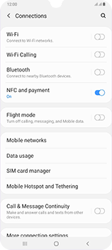 Samsung Galaxy A70 - Network - Enable 4G/LTE - Step 5
