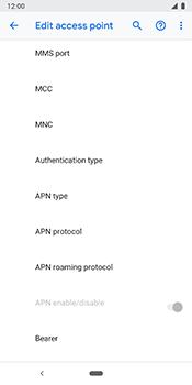 Google Pixel 3 - MMS - Manual configuration - Step 12