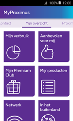 Samsung Galaxy J1 - Applicaties - MyProximus - Stap 13