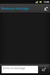 Sony ST27i Xperia Go - MMS - Envoi d