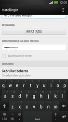 HTC One - WiFi - Mobiele hotspot instellen - Stap 9