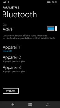 Microsoft Lumia 640 XL - WiFi et Bluetooth - Jumeler votre téléphone avec un accessoire bluetooth - Étape 8