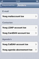 Apple iPhone 4S met iOS 6 (Model A1387) - E-mail - Handmatig instellen - Stap 7