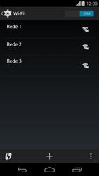 Motorola Moto X (2014) - Wi-Fi - Como configurar uma rede wi fi - Etapa 6