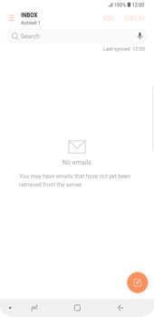 Samsung Galaxy S9 Plus - E-mail - Manual configuration IMAP without SMTP verification - Step 6