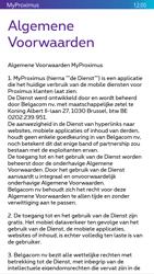 Nokia Lumia 830 - Applicaties - MyProximus - Stap 11