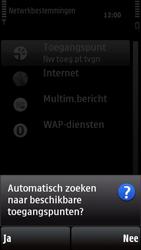 Nokia X6-00 - Wifi - handmatig instellen - Stap 6