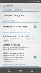 Sony Xpéria T3 - Sécuriser votre mobile - Personnaliser le code PIN de votre carte SIM - Étape 5