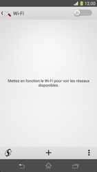 Sony D5503 Xperia Z1 Compact - Wifi - configuration manuelle - Étape 4