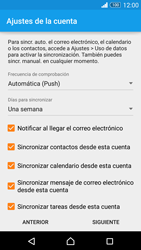 Sony Xperia Z3 - E-mail - Configurar Outlook.com - Paso 8