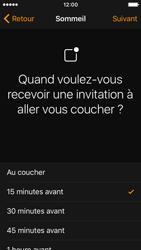 Apple iPhone SE - iOS 10 - iOS features - Coucher - Étape 8