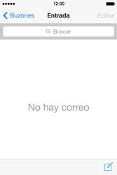 Apple iPhone 4S iOS 7 - E-mail - Escribir y enviar un correo electrónico - Paso 3