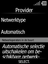 Doro 7060-model-dfc-0190 - Netwerk selecteren - Handmatig een netwerk selecteren - Stap 8