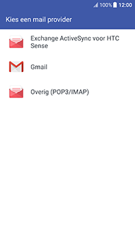 HTC U11 - E-mail - Account instellen (IMAP met SMTP-verificatie) - Stap 5