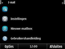 Nokia E6-00 - E-mail - Handmatig instellen - Stap 11