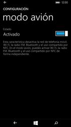 Microsoft Lumia 535 - Funciones básicas - Activar o desactivar el modo avión - Paso 6