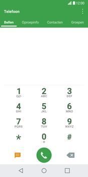 LG G6 (LG-H870) - Voicemail - Handmatig instellen - Stap 3