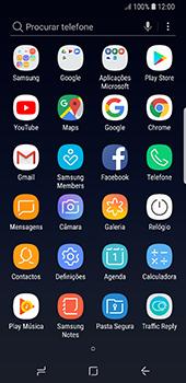 Samsung Galaxy S8 - Android Oreo - Segurança - Como ativar o código de bloqueio do ecrã -  3