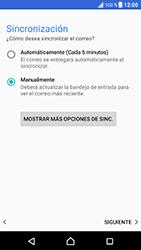 Sony Xperia XZ - Android Nougat - E-mail - Configurar correo electrónico - Paso 21