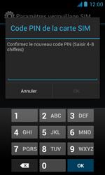 Bouygues Telecom Bs 402 - Sécuriser votre mobile - Personnaliser le code PIN de votre carte SIM - Étape 11