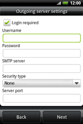 HTC A510e Wildfire S - Email - Manual configuration POP3 with SMTP verification - Step 8