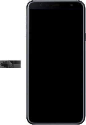 Samsung J4+ - Primeiros passos - Como inserir o chip da Nextel no seu celular - Etapa 2