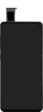Samsung Galaxy S10e - Toestel - simkaart plaatsen - Stap 6