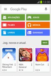Samsung Galaxy Fame - Aplicações - Como pesquisar e instalar aplicações -  4