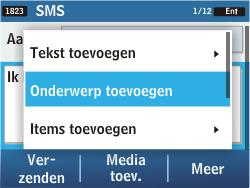 Samsung C3500 Chat 350 - MMS - hoe te versturen - Stap 8