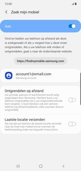Samsung galaxy-note-10-plus-single-sim-sm-n975f - Beveiliging en ouderlijk toezicht - Zoek mijn mobiel inschakelen - Stap 7