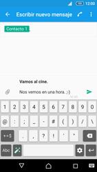 Sony Xperia Z5 - Mensajería - Escribir y enviar un mensaje multimedia - Paso 15