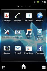 Sony ST21i Xperia Tipo - Internet - Hoe te internetten - Stap 2