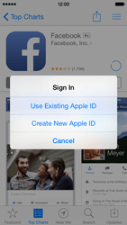 Apple iPhone 5s - iOS 8 - Applications - Create an account - Step 28