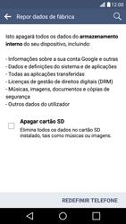 LG K10 4G - Repor definições - Como repor definições de fábrica do telemóvel -  8