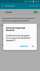 Samsung G920F Galaxy S6 - Bluetooth - connexion Bluetooth - Étape 9