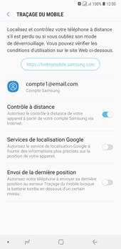 Samsung Galaxy A7 (2018) - Appareil - configurer Localiser mon appareil - Étape 7